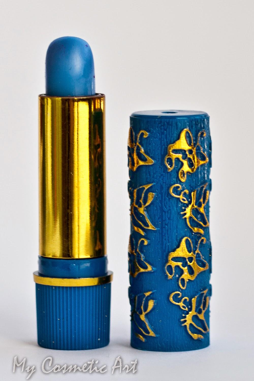 pintalabios magico marroqui azul