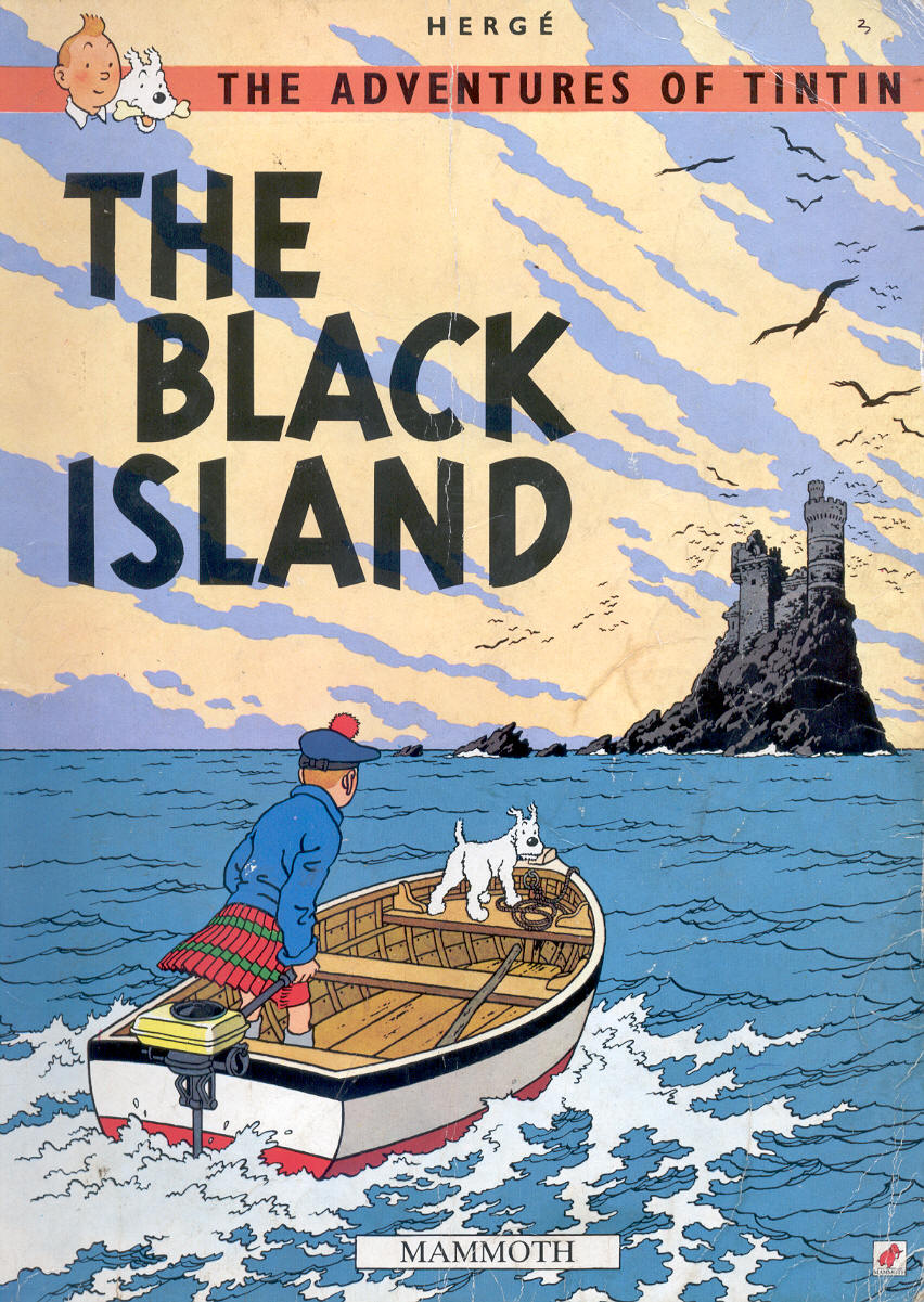 Tintin – The Black Island   dOwNlOaD eBoOk cOlLeCtIoNs