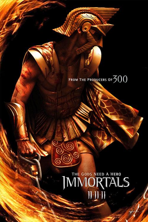 the immortals poster the immortals