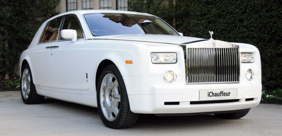 Rolls Royce Car White 2014