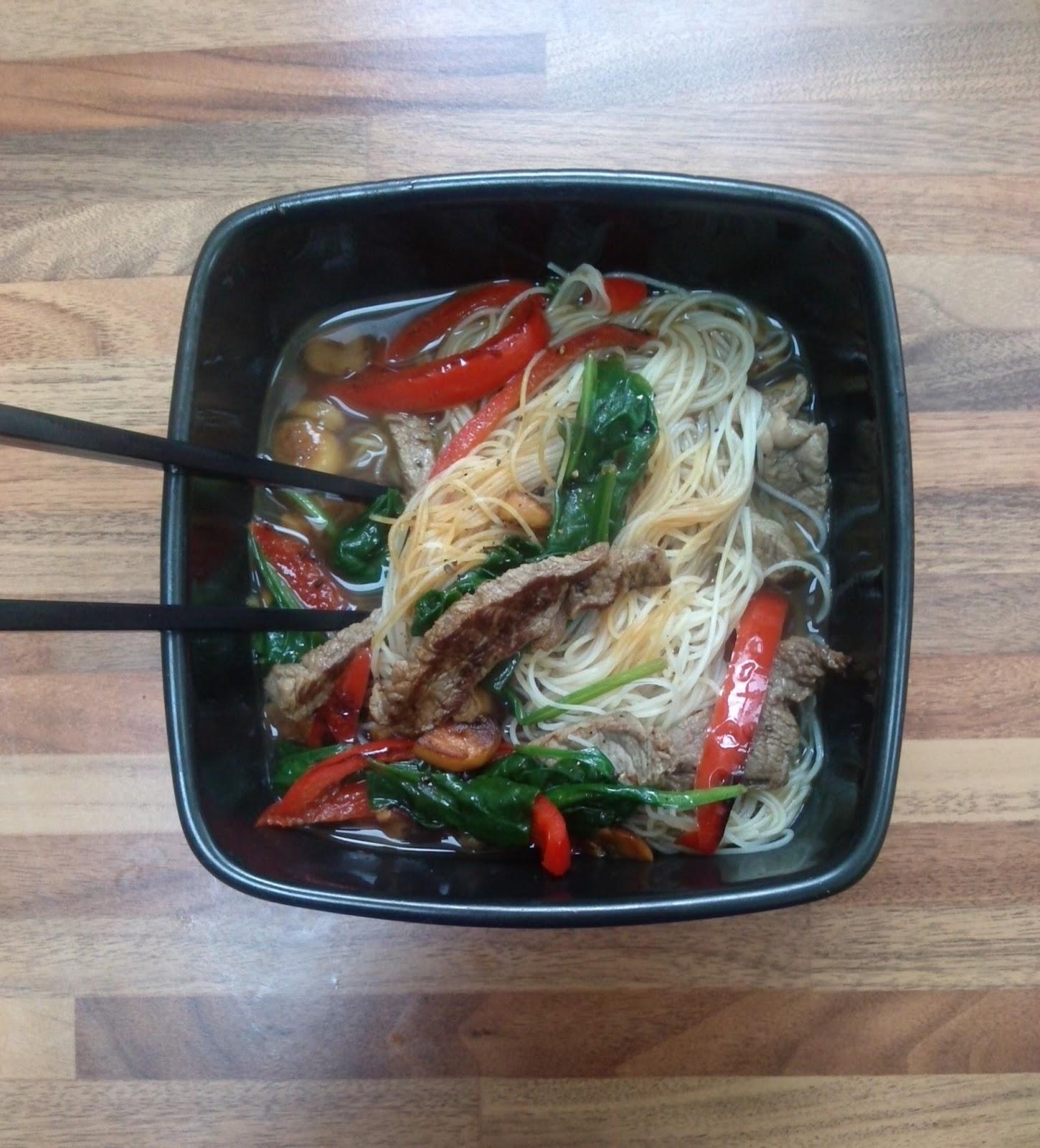 Beef & Rice Noodle Ramen