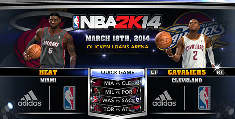 NBA 2K14 Official Roster Update - March 18th, 2014