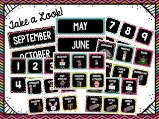Bright and Sassy Calendar Set