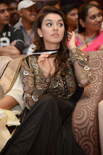 Actress Hansika Motwani Pictures in Black Dress at Doosukeltha Telugu Movie Audio Launch 0014.jpg