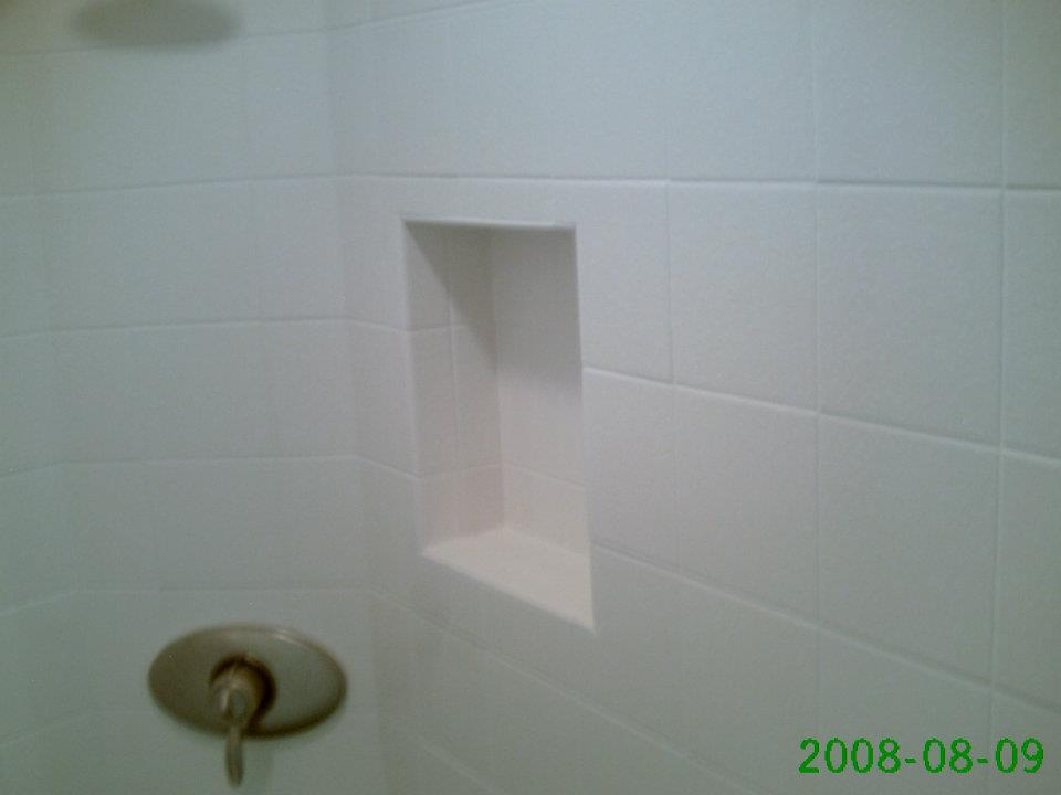 In This Example We Have A Simple And Really Boring Niche That The Homeowner  Had Us Install In A Rarely Used Shower.