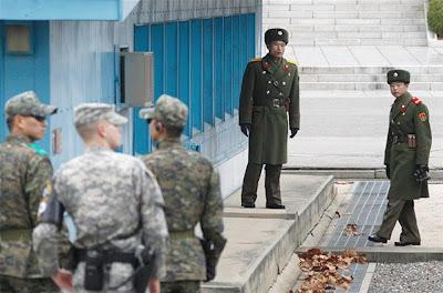 perbatasan korea utara dan selatan