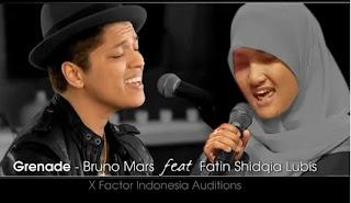 Fatin X Factor - Grenade cover