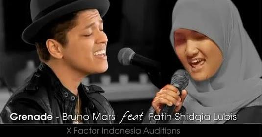 download gratis mp3 barat: Fatin X Factor - Grenade (Bruno Mars Cover)