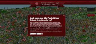 Mapa de curiosidades de São Paulo