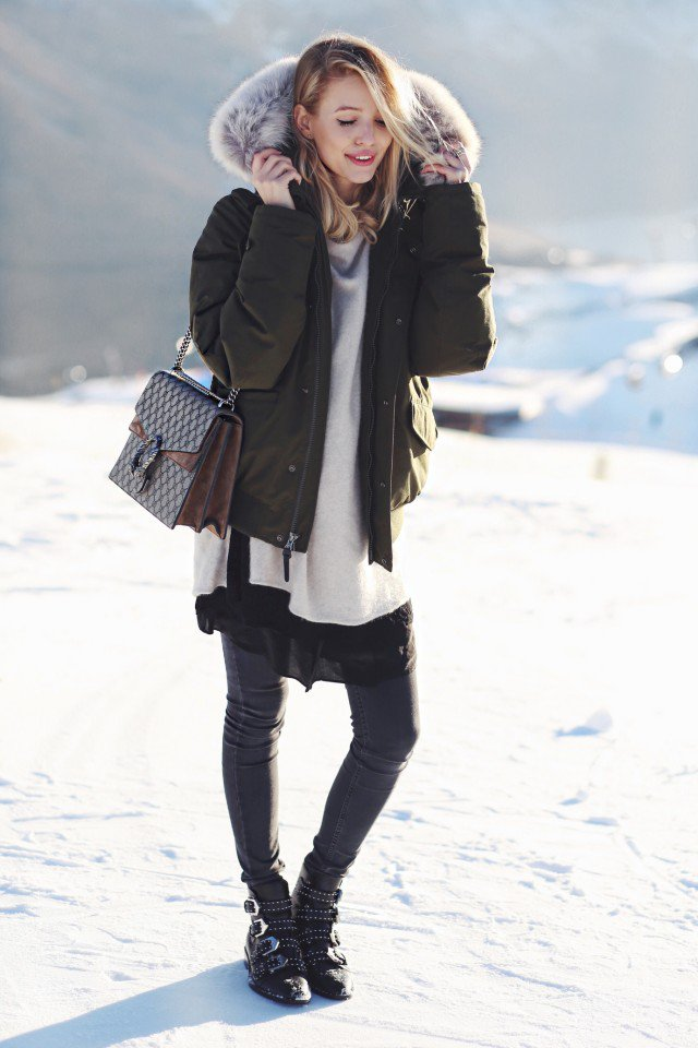 Fabulosas parcas de moda   Invierno con Glamour