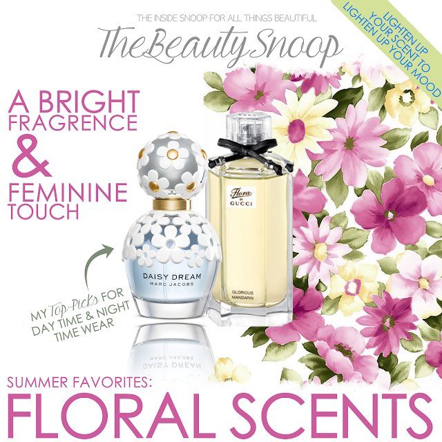 YOUR SUMMER SCENT GUIDE // FLORALS