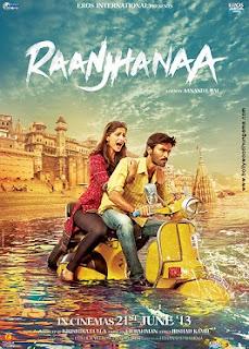 Raanjhanaa (2013) (Audio Cleaned) DVDScr XviD 1CDRip [DDR] Full Movie Free Download
