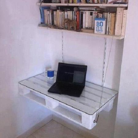 Escritorios con palets reciclados muebles y decoracion ecoresponsable - Palet reciclado muebles ...