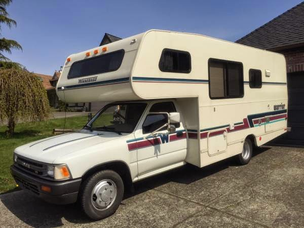 Fantastic RARE 1994 TOYOTA WINNEBAGO WARRIOR V6 MOTORHOME RV GENERATOR SWEET! THE LAST AND BEST YEAR TOYOTA MADE! Only 74K Original Low Miles! Overall This Motorhome Is Good Condition For Its Age, It Is Clean,