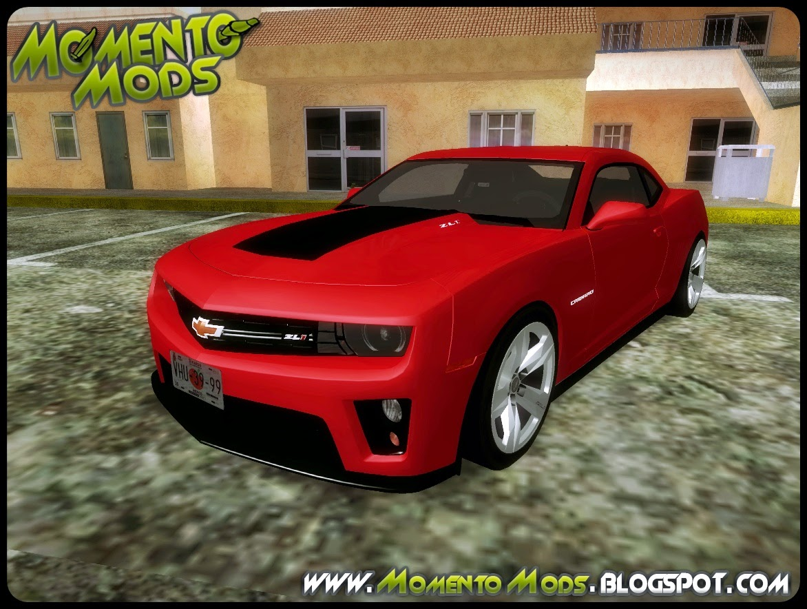 GTA SA - Camaro ZL1