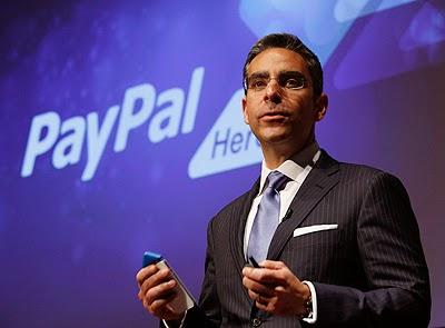Ketua Eksekutif eBay PayPal letak jawatan untuk sertai Facebook