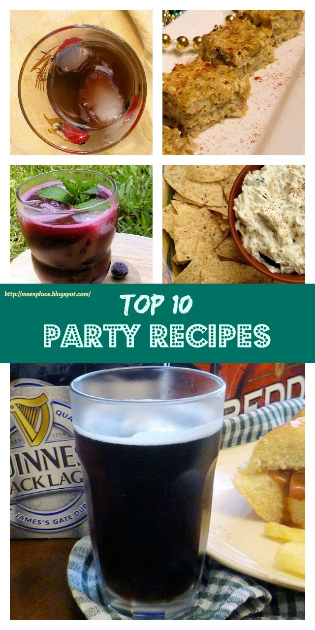 Top 10 Party Recipes | Ms. enPlace