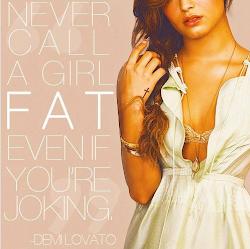 Demi said: