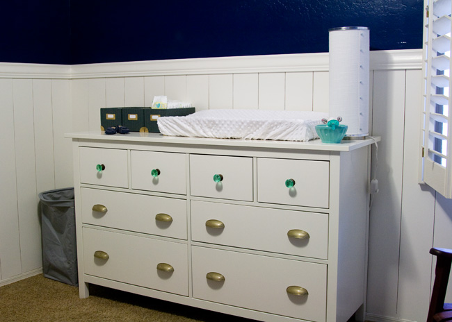 A Nursery Snippet   The Dresser. Freckles in April  A Nursery Snippet   The Dresser