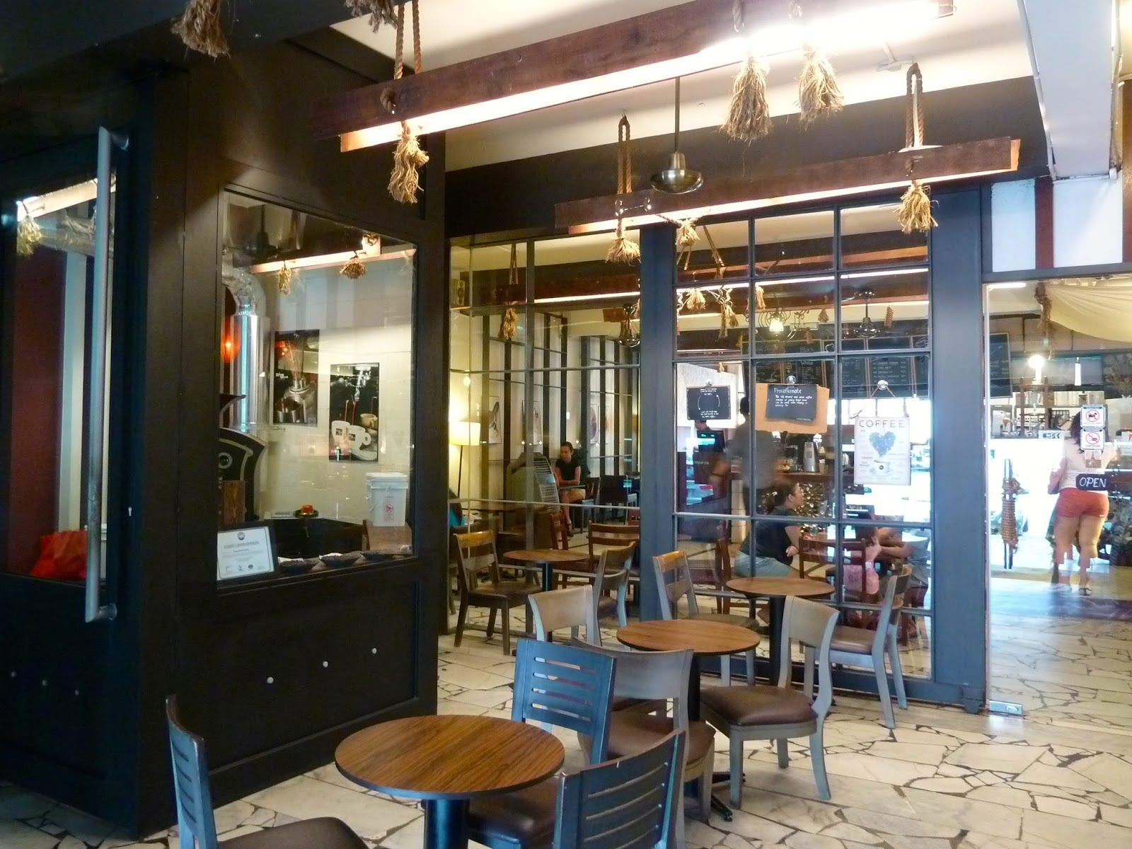it was also the first place in kl that housed a coffee roaster a giesen in fact
