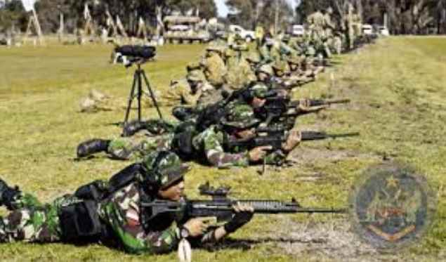 Gambar Pasukan TNI AD dalam kejuaraan-menembak-dunia