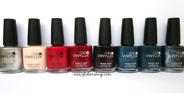 Contradictions Collection Autunno 2015 - CND Vinylux [tutti gli swatch]