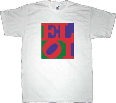 robert indiana love art  pop art autobombing graphic design t-shirt ephemeral-t-shirts