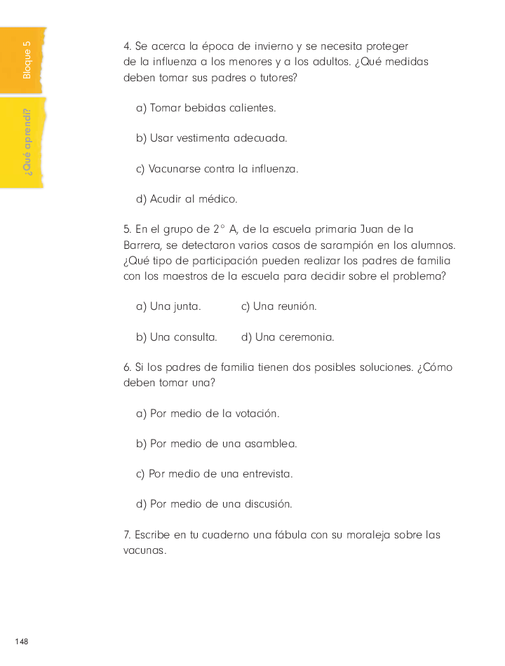 ¿Qué aprendí? cívica y ética 2do bloque 5/2014-2015