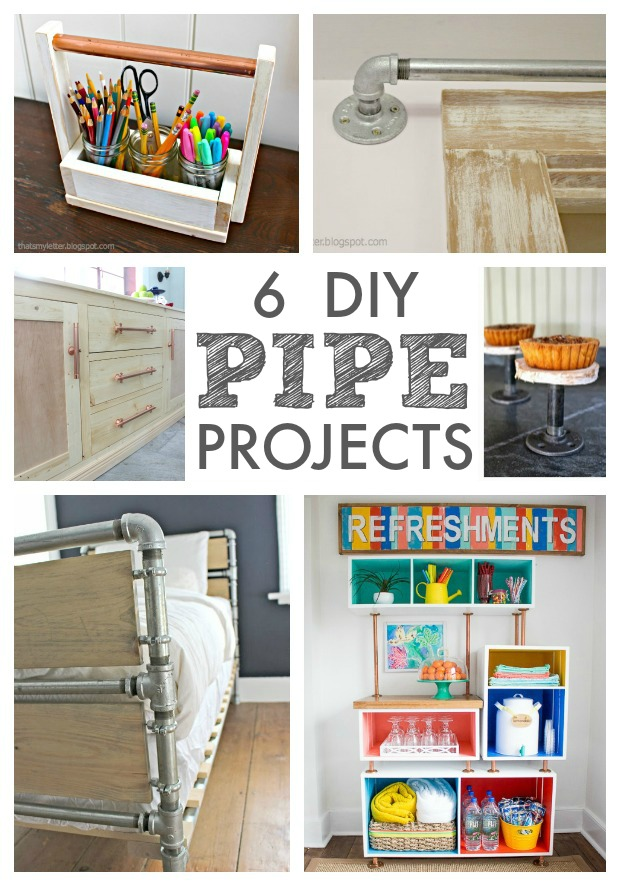 6 diy pipe projects