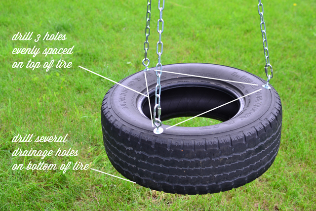 redbirdblue how to high flying horizontal tire swing
