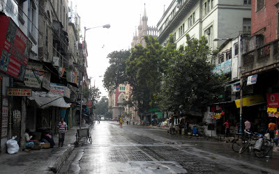 Street in Calcutta, India