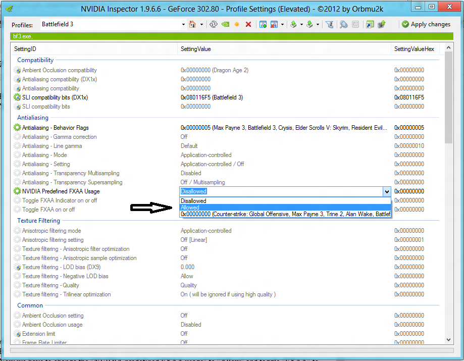 how to open nvidia control panel while in a game