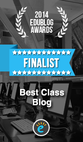 2014 Edublog Awards Finalist!