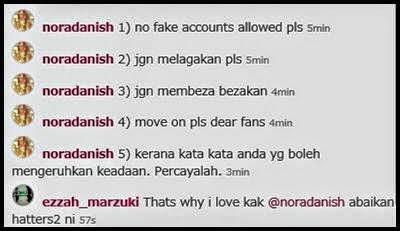 "... ""mamasandha"" sementara fake account ini bernama ""mamasandhamamasan"