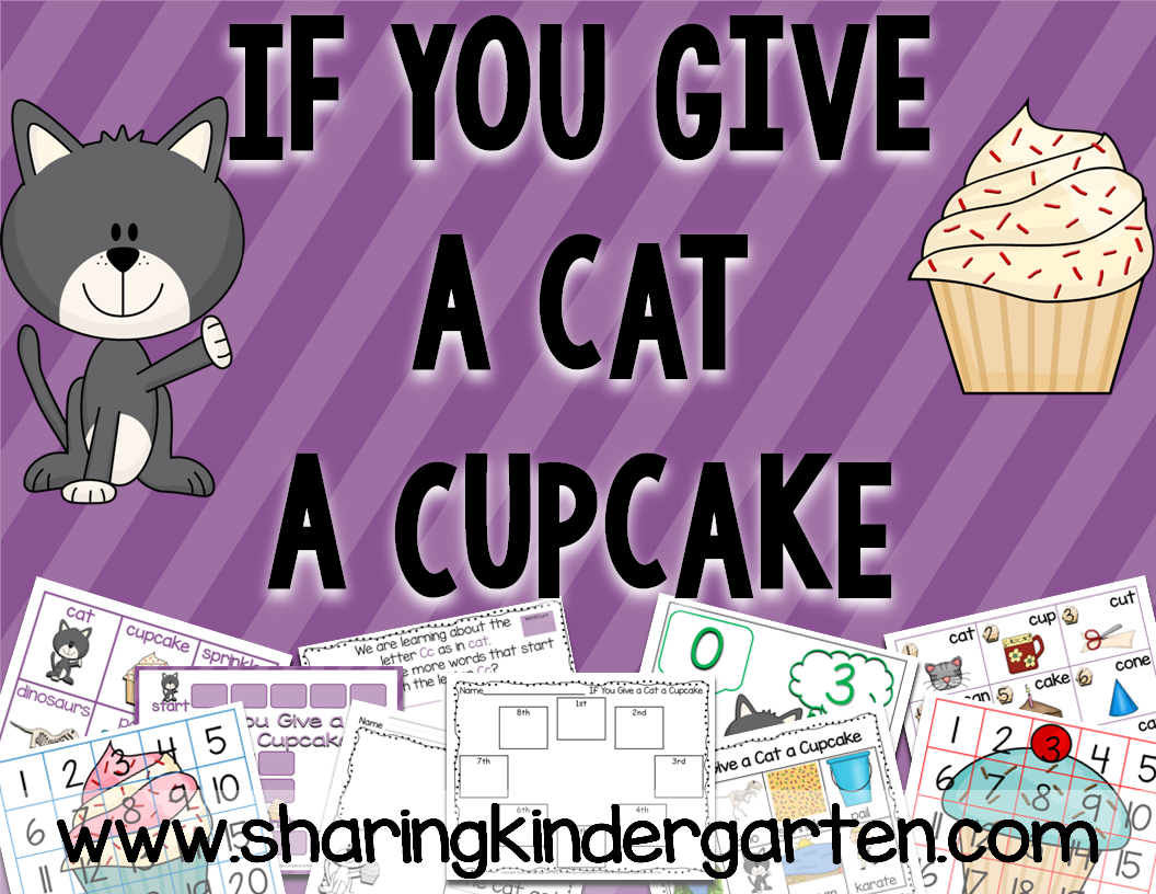 http://www.teacherspayteachers.com/Product/If-You-Give-a-Cat-a-Cupcake-Unit-316946
