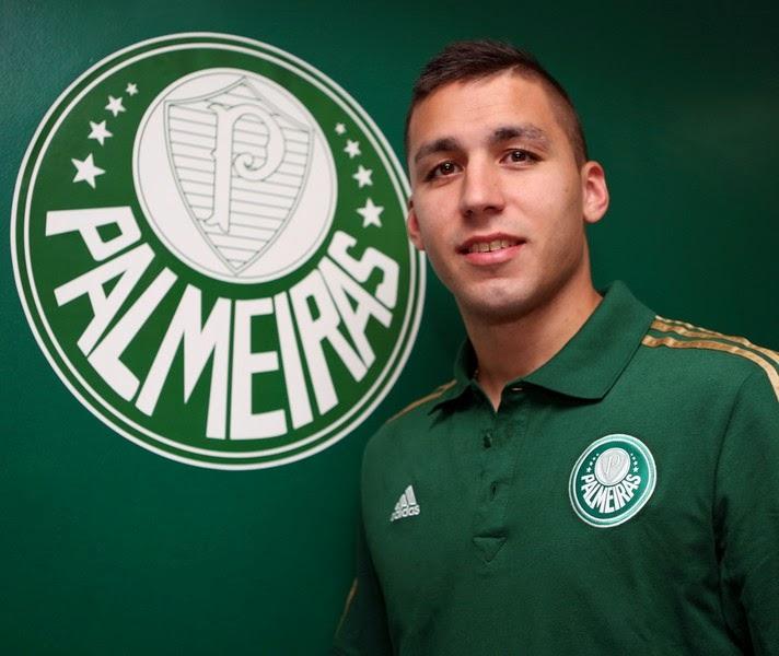 Palmeiras contrata dois jogadores Argentinos Pablo Mouche e Fernando Tobio! e143be361fb95