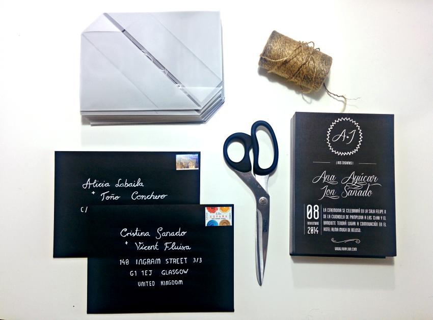 DIY: Invitación de boda