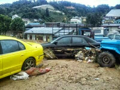 Banjir Lumpur di Cameron Highlands