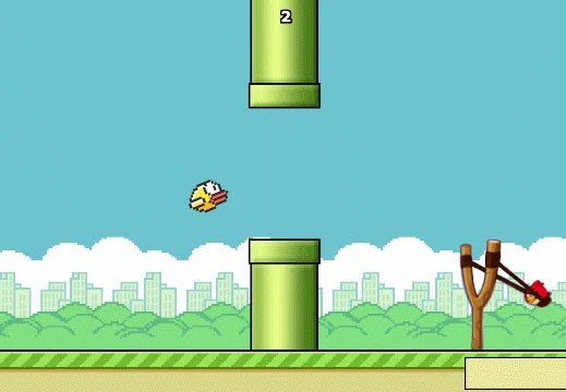 Flappy Bird vs. Angry Bird