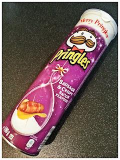 Sausage and Crispy Bacon Flavour Pringles