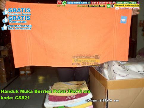 Handuk Muka Berries Polos 35x70 Cm