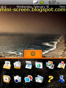 Free bDroid Theme Reloaded for Blackberry Storm