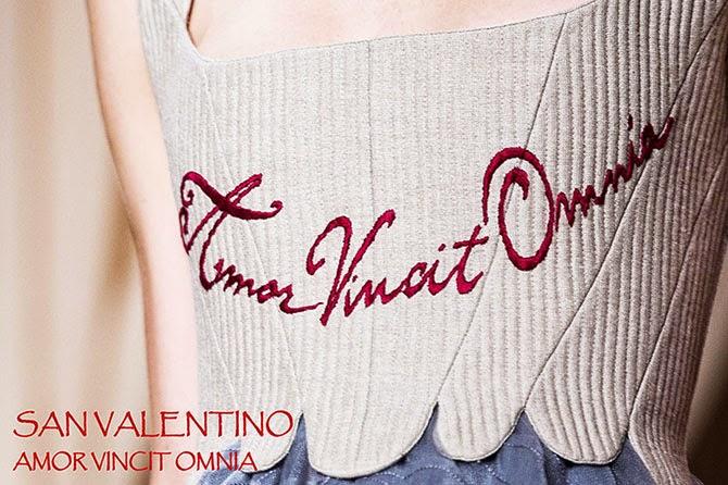 Valentino sfilata haute couture parigi corsetto Virgilio