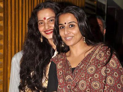 Rekha and Vidya Balan watches hindi cinema Kahaani