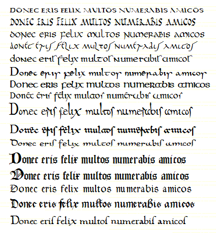 Modern Handwriting Styles