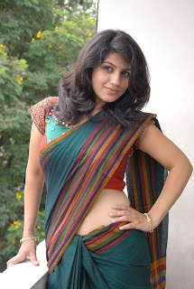 Supriya Spicy Pictureshoot Exclusive Sizzling Spicy Saree Navel Blouse