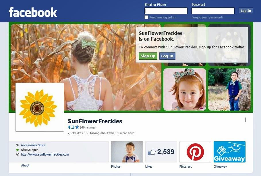 http://www.facebook.com/sunflowerfreckles