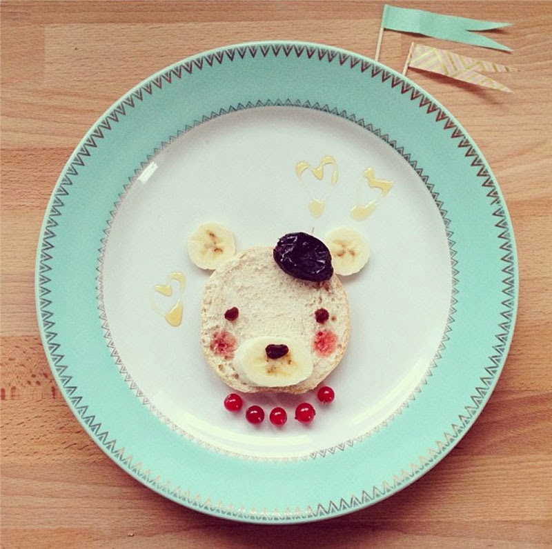 Ideas creativas para decorar la comida infantil   Maria victrix