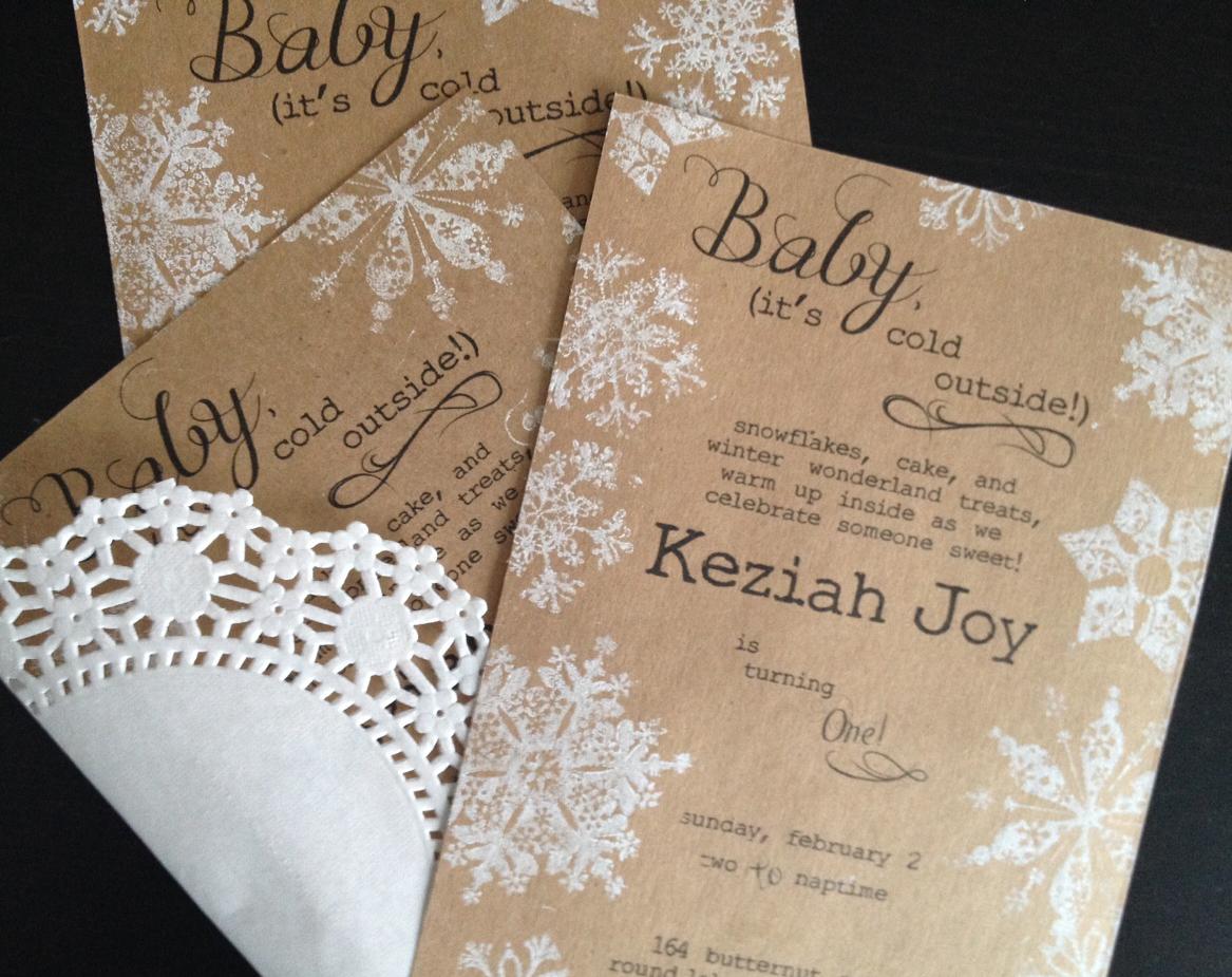 Fawn Over Baby: Keziah\'s Winter Wonderland Themed 1st Birthday ...