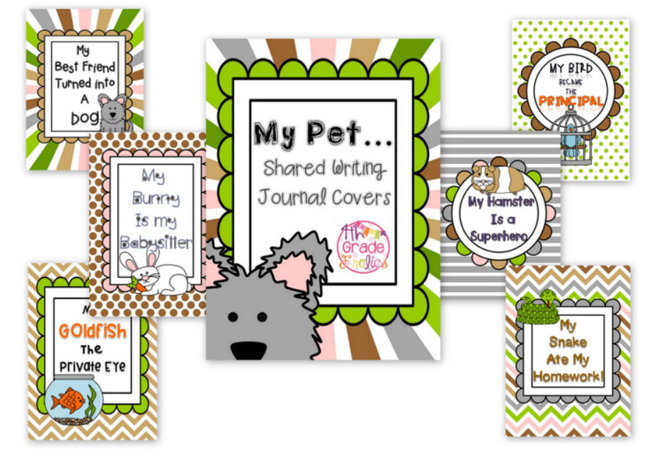 http://www.teacherspayteachers.com/Product/My-PetsShared-Writing-Journal-Covers-1286499
